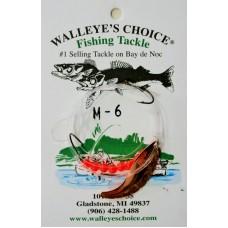 Walleye Spinner Rigs - Minnow Whiptail # 3 Blades