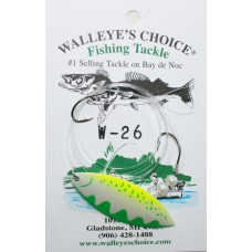 Walleye Spinner Rigs - Willowleaf Series