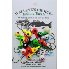 Floating Jig Heads-Hard 1/4oz. size Floating Jigs