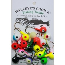Floating Jig Heads-Hard 1/2oz. size Floating Jig Heads