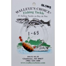 Walleye Spinner Rigs - Indiana Blades ( 1 - 80 )