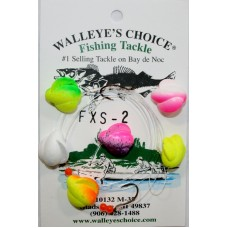 Walleye Spinner Rigs-Floating Winged Spinners