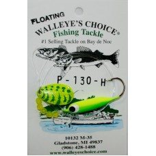 Walleye Spinner Rigs - # 4 Indiana Blade w/Extra Large Soft Floater